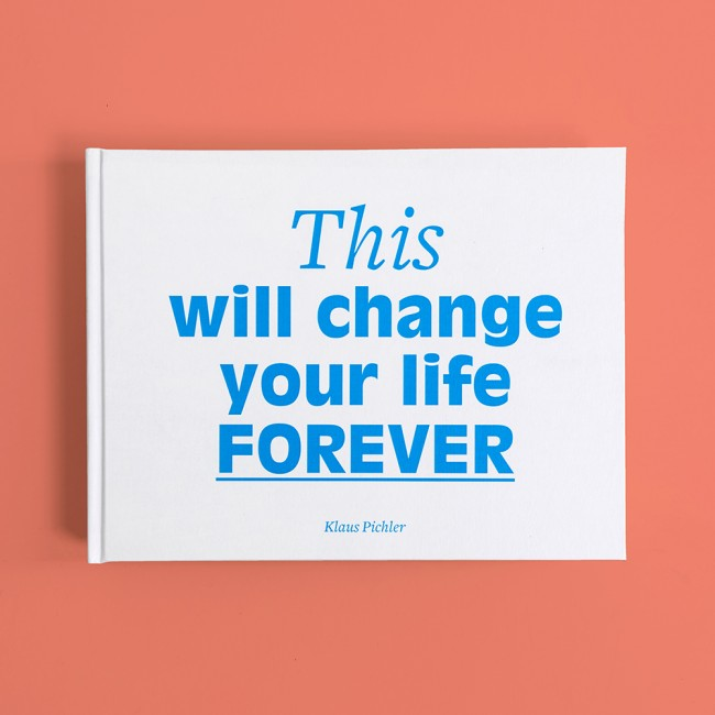 Klaus Pichler: This will change your life forever